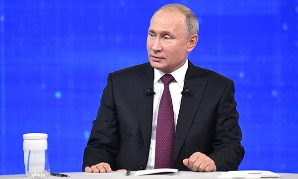 Путин отметил готовность «Единой России» принимать ответственность за непопулярные, но нужные для страны решения
