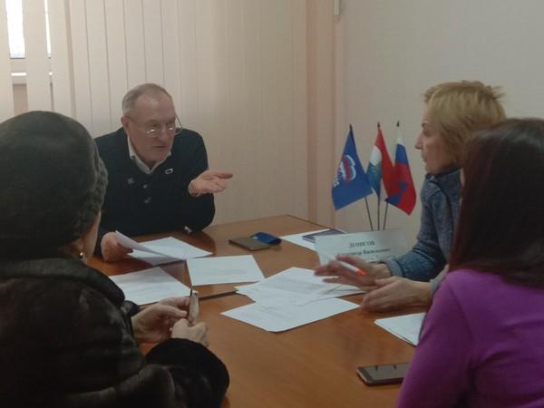 Александр Денисов провёл приём граждан